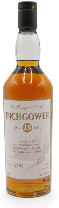 Inchgower 13 years old, Manager's Dram
