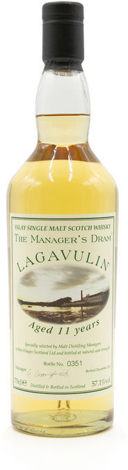 Lagavulin 11 years old, Manager's Dram