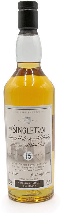Singleton 16 years old, Manager's Dram