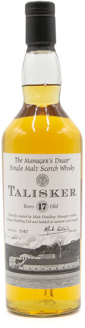 Talisker 17 years old, Manager's Dram