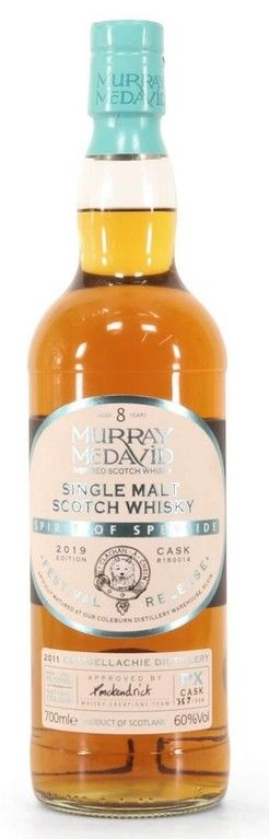 Murray McDavid Craigellachie 8 years old, Spirit of Speyside bottle 2019