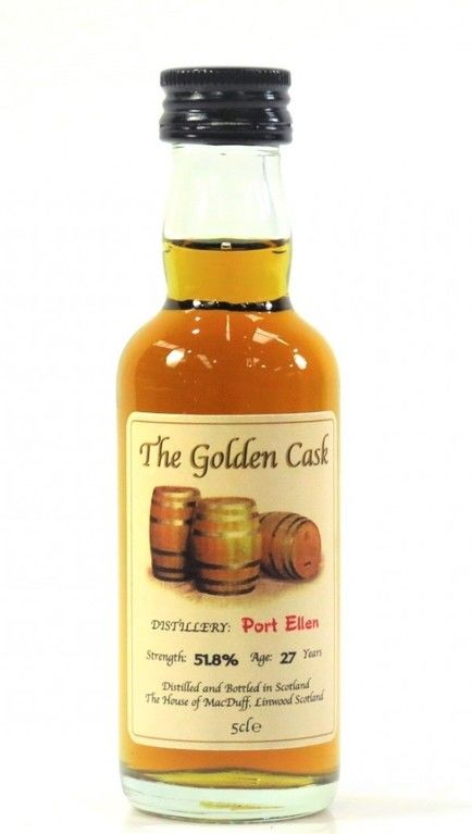 Port Ellen 27 Year Old The Golden Cask​ Miniature