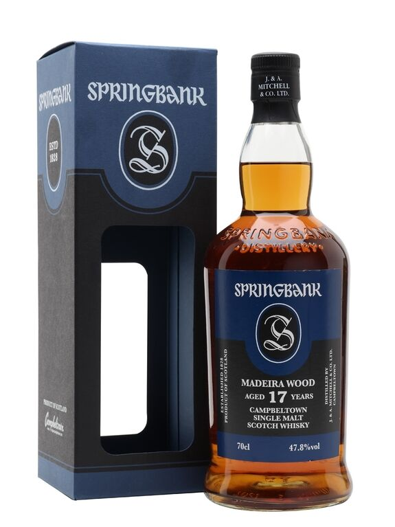 Springbank 17 Years Old Madeira