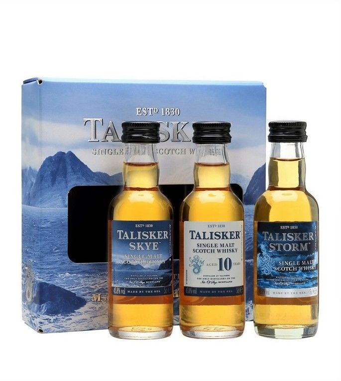 Talisker miniature set