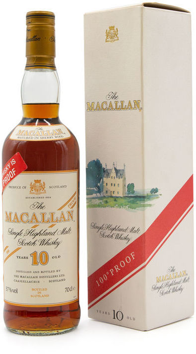 The Macallan 10 years old, 100° Proof