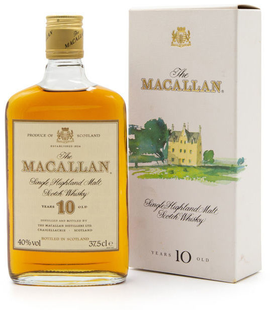 The Macallan 10 years old, 37.5CL