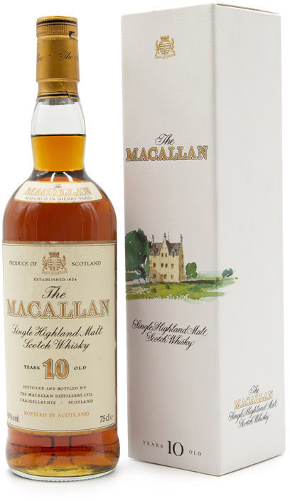 The Macallan 10 years old 75CL