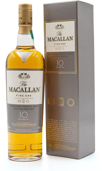 The Macallan 10 years old, Fine Oak