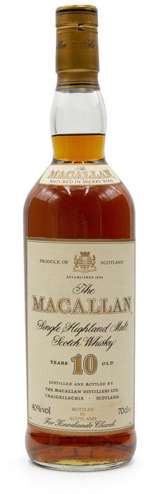 The Macallan 10 years old, Knockando Church Bottling
