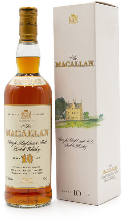 The Macallan 10 years old, White Box