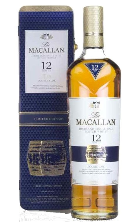 The Macallan 12 years old Double Cask, Gift Tin
