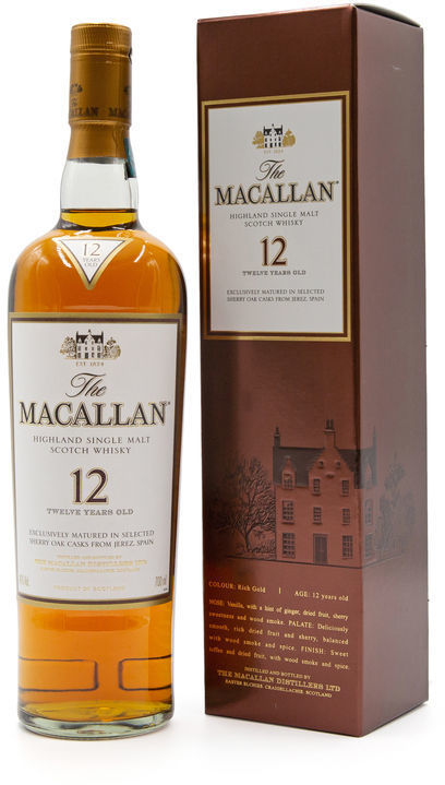 The Macallan 12 years old, Old Style