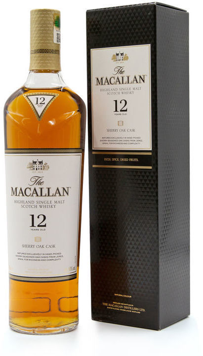 The Macallan 12 years old, Sherry Oak