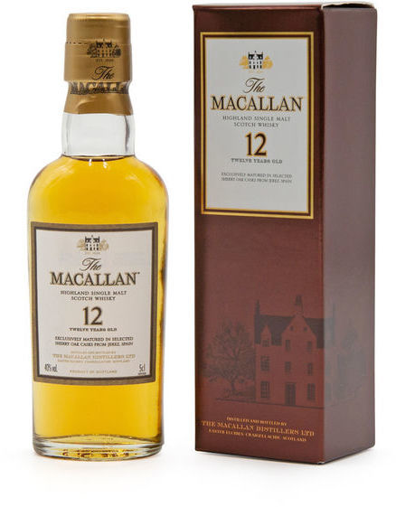 The Macallan 12 years old, Sherry Oak miniature