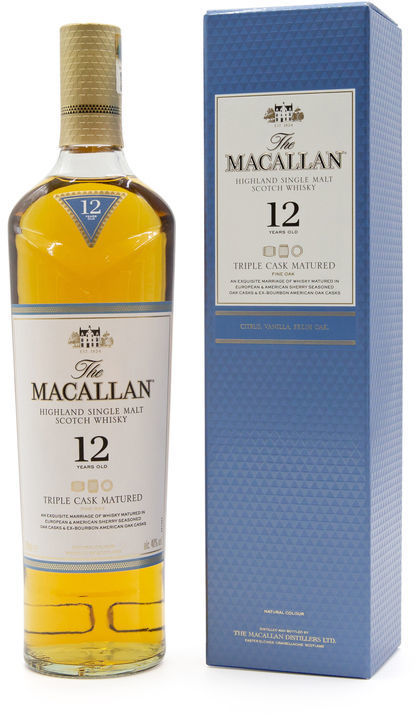 The Macallan 12 years old, Triple Cask