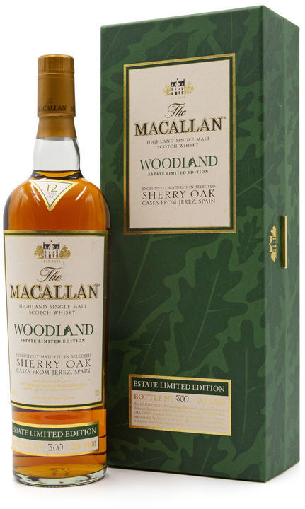 The Macallan 12 years old,  Woodland Estate