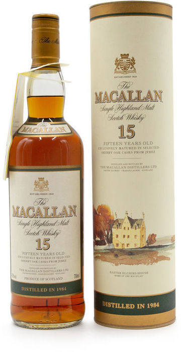 The Macallan 15 years old, 1984