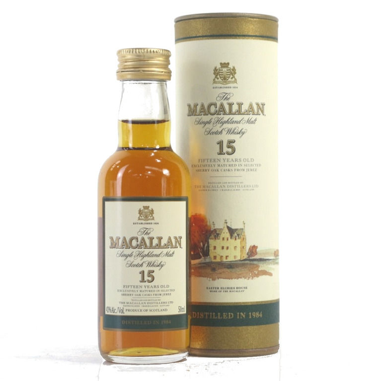 The Macallan 15 years old 1984 miniature