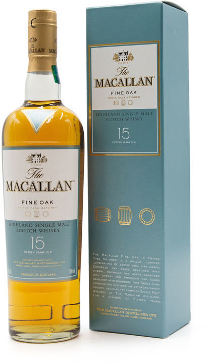 The Macallan 15 years old, Fine Oak
