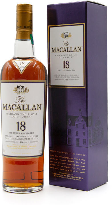 The Macallan 18 years, 1996