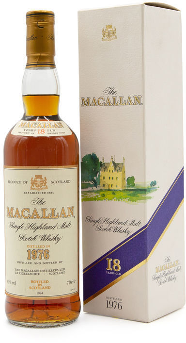 The Macallan 18 years old, 1976