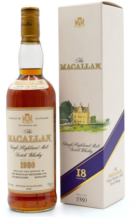 The Macallan 18 years old, 1980