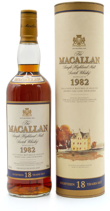 The Macallan 18 years old, 1982