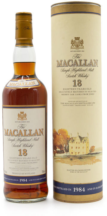 The Macallan 18 years old, 1984