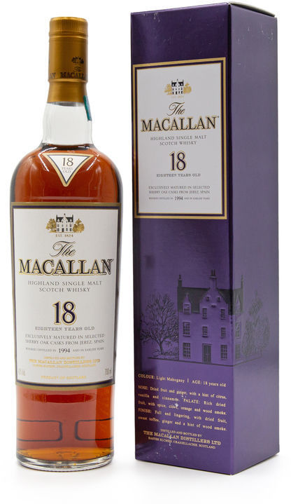 The Macallan 18 years old, 1994