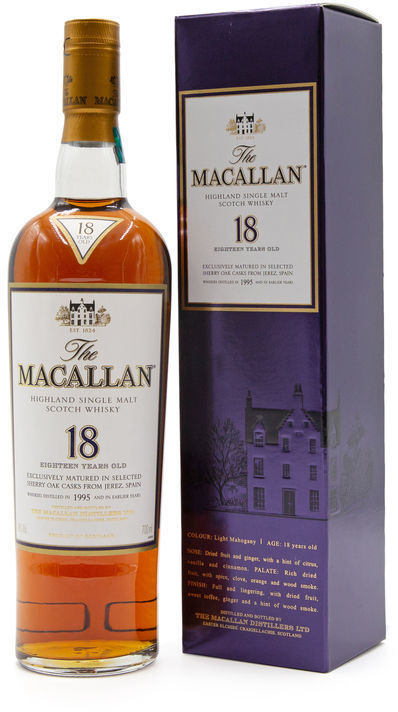 The Macallan 18 years old, 1995