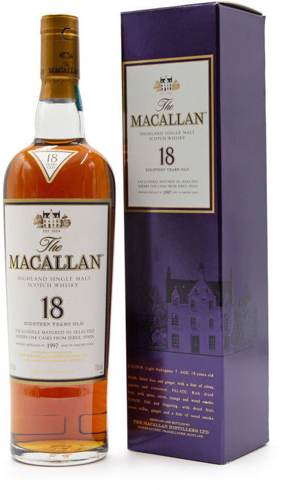 The Macallan 18 years old, 1997