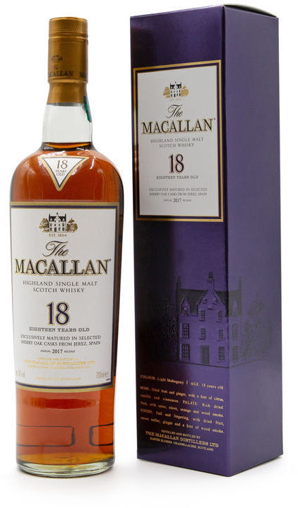 The Macallan 18 years old, 2017