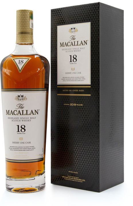 The Macallan 18 years old, 2019