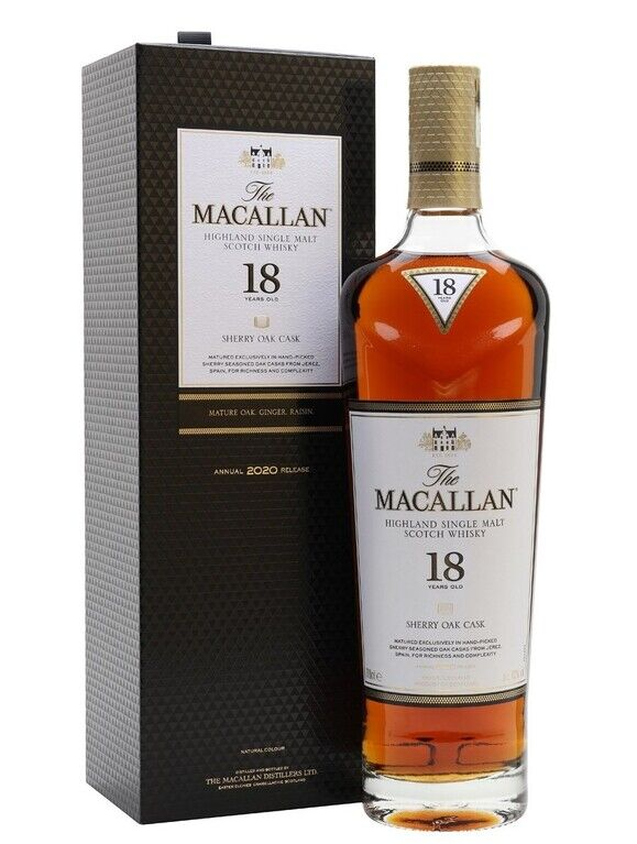 The Macallan 18 years old, 2020