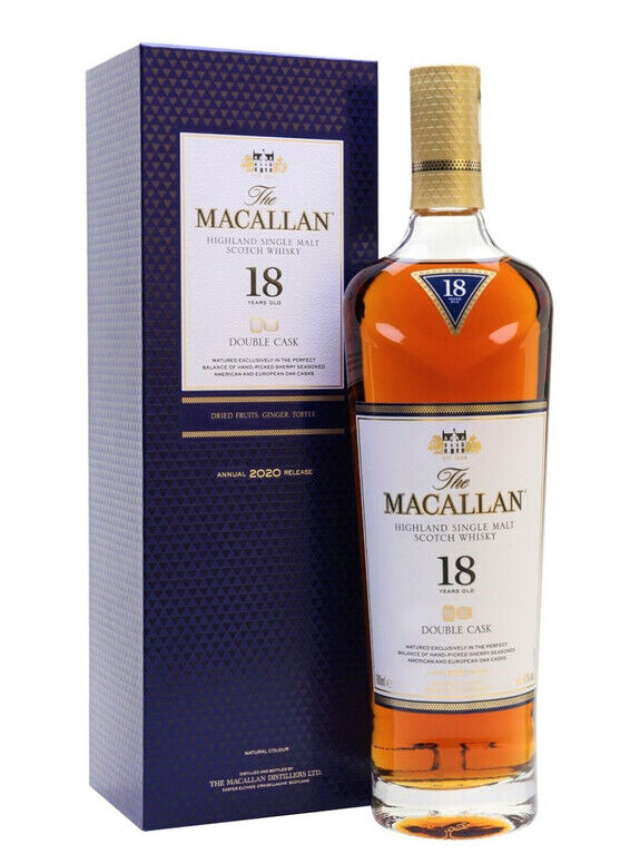 The Macallan 18 years old Double Cask 2020