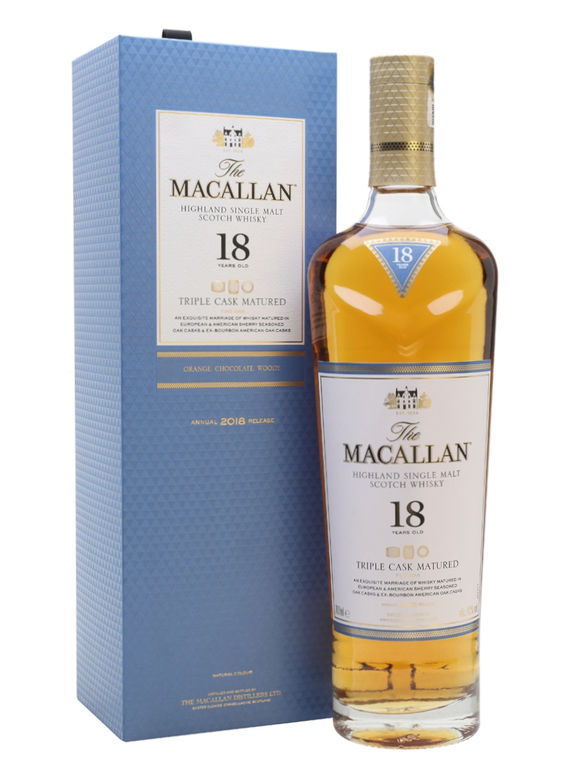 The Macallan 18 years old Triple Cask 2018