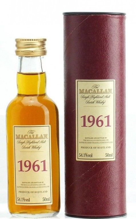 The Macallan 1961