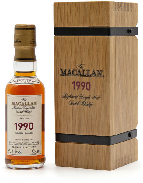 The Macallan 1990 Fine & Rare miniature