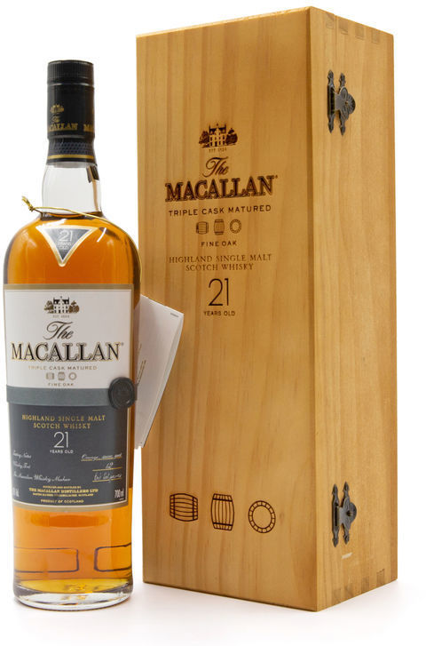 The Macallan 21 years old, Fine Oak