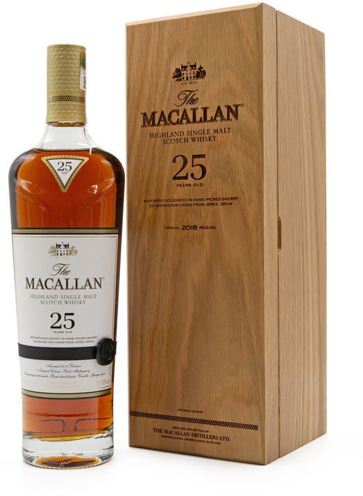 The Macallan 25 years old, 2018