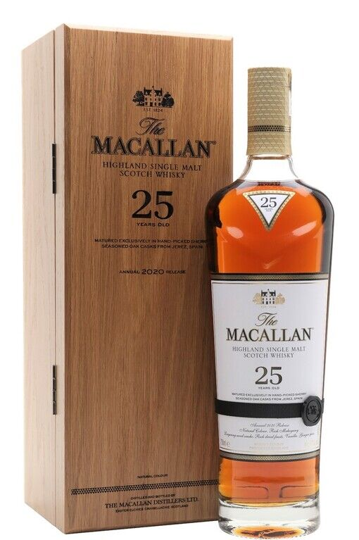 The Macallan 25 years old, 2020