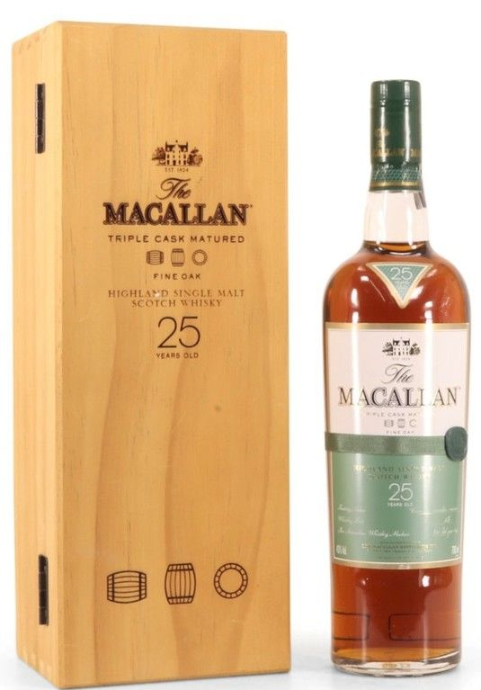 The Macallan 25 years old, Fine Oak