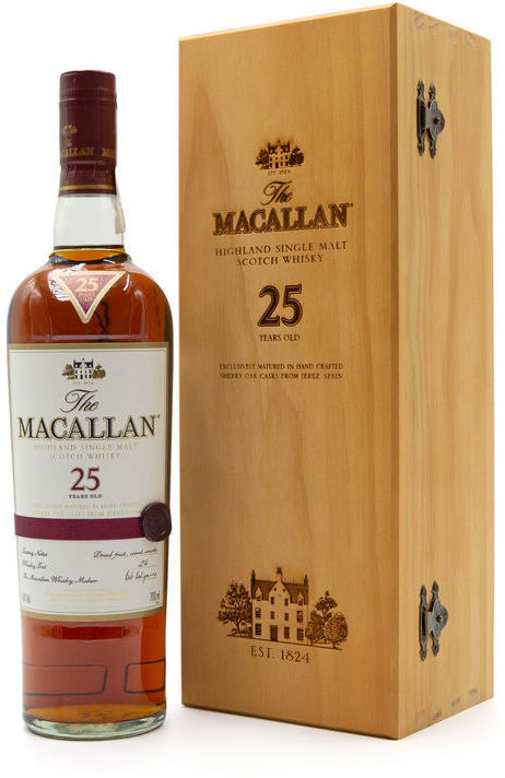 The Macallan 25 years old, Old Style