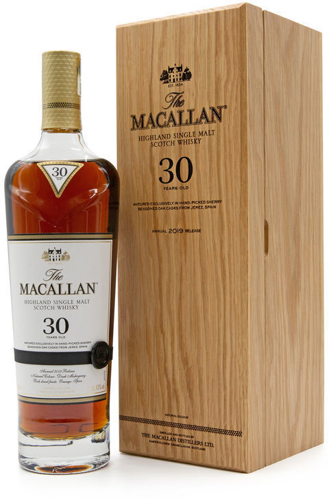 The Macallan 30 years old, 2019