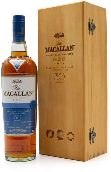 The Macallan 30 years old, Fine Oak
