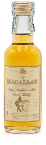 The Macallan 7 years old, Giovinetti Import