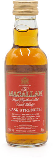The Macallan Cask Strength miniature