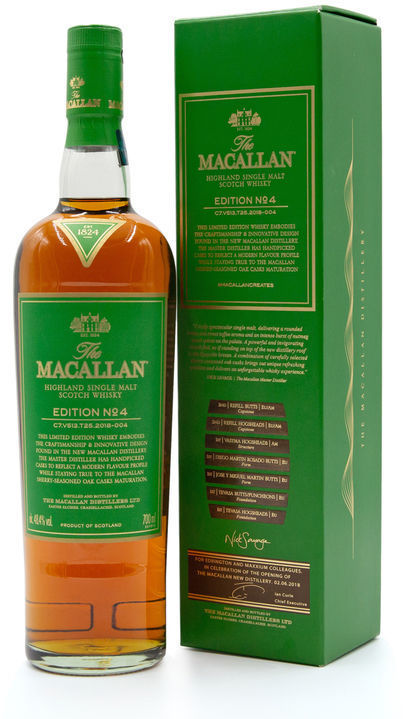 The Macallan Edition 4, Staff Only